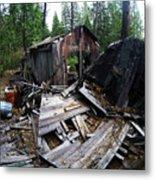 Soap Creek Debris, Real Estate Series Metal Print