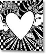 Soaring Heart  Metal Print