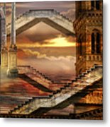 Soaring Towers Metal Print