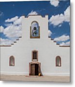 Socorro Mission Metal Print