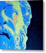 Socrates - Ancient Greek Philosopher Metal Print