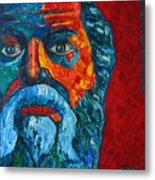 Socrates Look Metal Print