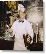 Soda Jerk, 1939 Metal Print