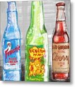 Soda Pops Metal Print