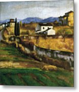 Soffici: Hill, 1922 Metal Print