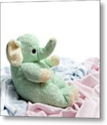 Soft And Cuddly Metal Print