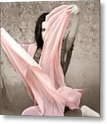 Soft And Sensual Metal Print