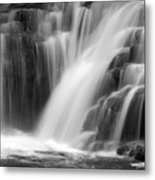 Soft Clare Glen's Waterfall Ireland Metal Print