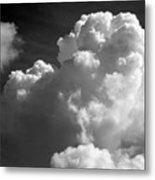Soft Clouds Metal Print