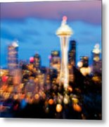 Soft Color Night  Metal Print