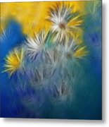 Soft-flowers Metal Print