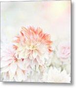 Soft Focus Floral Background Metal Print