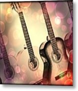Soft Sounds Metal Print
