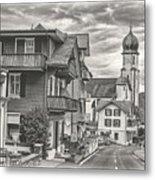 Soft Village Image Metal Print