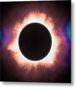 Solar Eclipse In Infrared 2 Metal Print