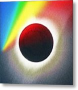 Solar Eclipse Spectrum  Of 2017 2 Metal Print