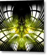 Solar Greenhouse Metal Print