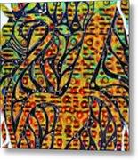 Solar Jaguar Metal Print
