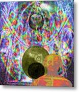 Solar Plexus Spirit Metal Print by Joseph Mosley