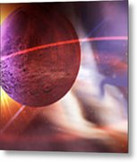 Solar Turbulence Metal Print