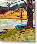Sold Donnie Myers Pond Metal Print by Charlie Spear