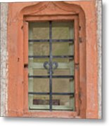 Soldatenbau Window Metal Print