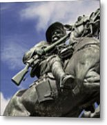 Soldier In The Boer War Metal Print