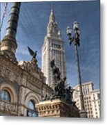 Soldiers' And Sailors' Monument Metal Print