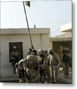 Soldiers From The Iraqi Special Forces Metal Print