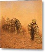 Soldiers In The Dust 4 Metal Print