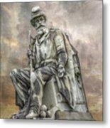 Soldiers National Monument War Statue Gettysburg Cemetery  Metal Print