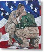Soldiers Metal Print