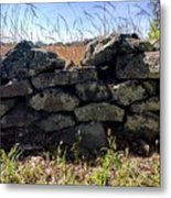 Soldier's View Of The Battlefield Metal Print