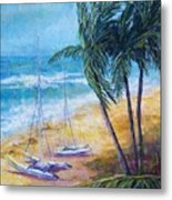 Soliman Bay Metal Print