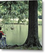 Solitude And The Lonely Heart Metal Print
