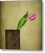 Solitude In Bloom Metal Print