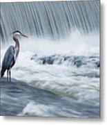Solitude In Stormy Waters Metal Print