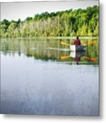 Solitude On Susan Lake Metal Print