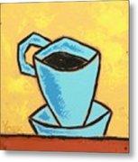 Solo Coffee I Metal Print