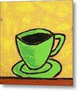 Solo Coffee II Metal Print