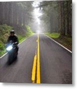 Solo Road Metal Print