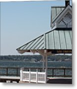Solomons Island - Welcome Metal Print