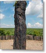 Solstice Celebrations - Menhir Stone Shepherd Metal Print