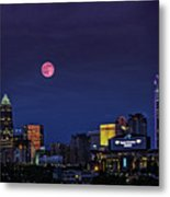 Solstice Strawberry Moon Charlotte, Nc Metal Print