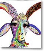 Somebody Got Your Goat? Metal Print
