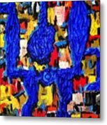 Somebody Standing On The Promises Of God Metal Print