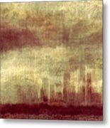 Someone To Hold You Beneath Darkened Sky Metal Print