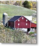 Somerset County Farm Metal Print