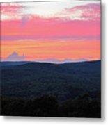 Somerset Sunset Horizontal Metal Print