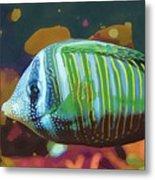 Something Fishy Metal Print